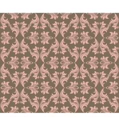 Abstract geometric floral classic pattern vector image