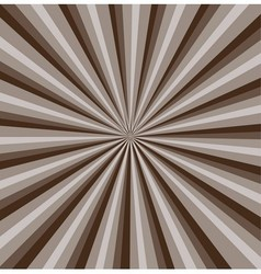 Brown rays background vector
