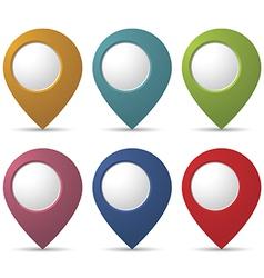 Location pointers vector