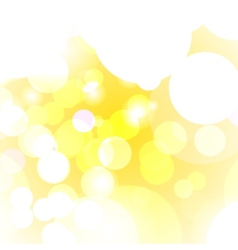 Summer blurred bokeh vector image