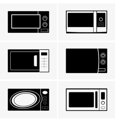 Microwave ovens vector image vector image