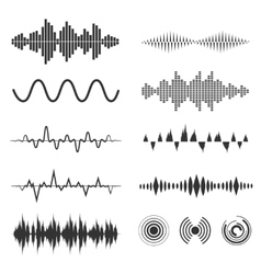 Signal wave set analog signals and digital vector image