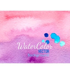 Watercolor banner background for textures vector image vector image