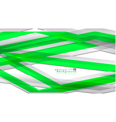 abstract bright background template color green vector image