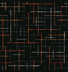 abstract criss cross lines seamless vector image
