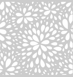 Abstract seamless drop pattern monochrome texture vector