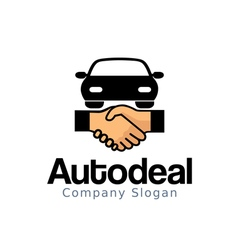 Auto Deal Design vector image