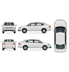 Auto sedan vector