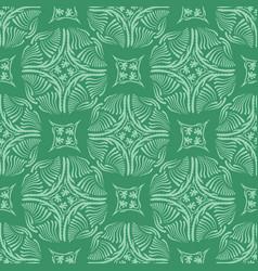 circle tile seamless pattern hand drawn vector image