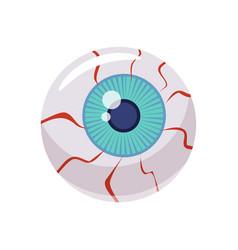 Eye holiday halloween character attribute vector