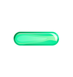 Green window option in cartoon style vector