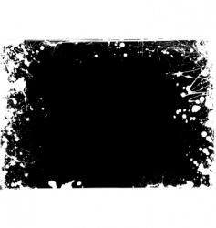 grunge negative vector image