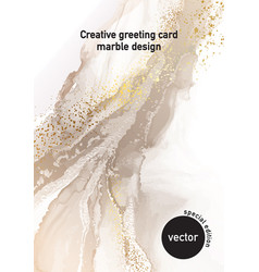 minimalistic nuse champagne color painting ivory vector image