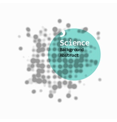 Science abstract background vector