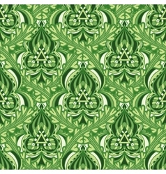 Seamless pattern in Indian style vector image