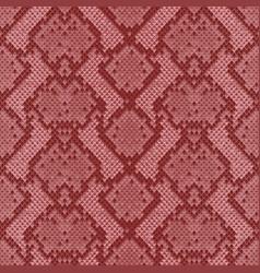Snake skin colorful animal pink seamless pattern vector