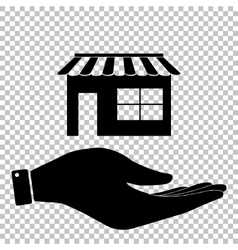 Store sign Flat style icon vector image