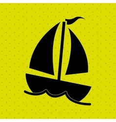 Summer icon design vector
