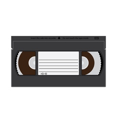 VCR tapes vector image vector image