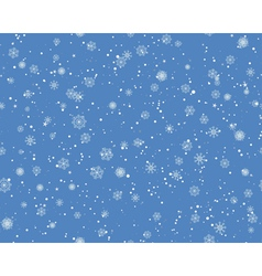 Seamless Blizzard Pattern vector image vector image