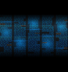 Binary background abstract streaming code matrix vector