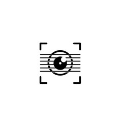 Guitar camera logo design template vector