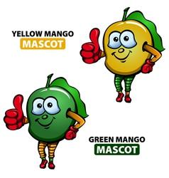 Mango Mascot vector