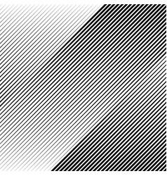 Oblique diagonal lines edgy pattern monochrome vector