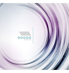 textured elegant smooth swirl vector image vector image