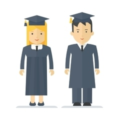 profession young students vector image vector image