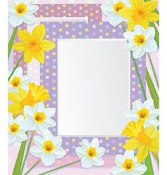 frames flowers vector image vector image