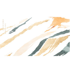 abstract art background with watercolor texture vector image