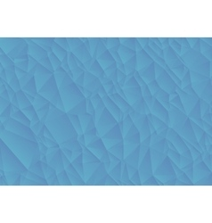 Abstract blue background consisting of triangles vector image