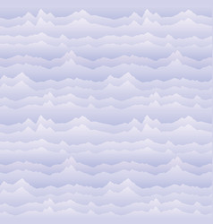 abstract wavy mountain skyline background cardio vector image