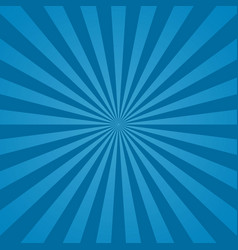 blue sunburst background abstract texture vector image