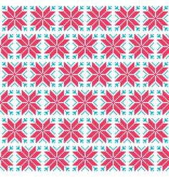 Christmas nordic seamless pattern vector image