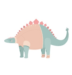 Cute dinosaur vector