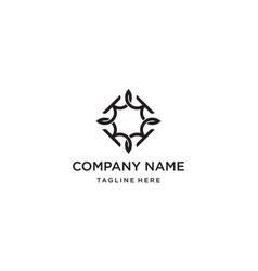 Letter k with link connection logo design concept vector