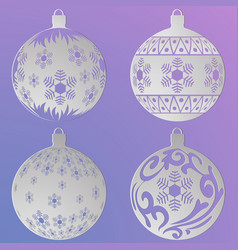 paper balls1 vector image