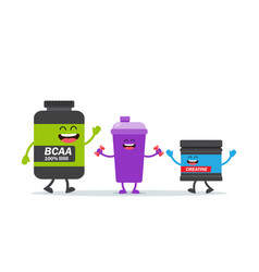 sport and fitness nutrition vector image