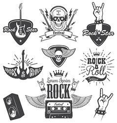 Rock 2 vector image