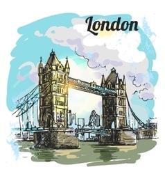London bridge vector