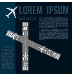 Airport technogy vector image
