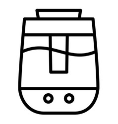 Aroma air humidifier icon outline style vector