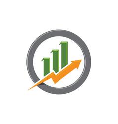 Business finance professional logo template vector