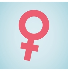 Female symbol design vector
