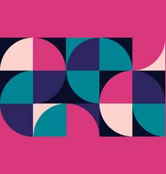 geometric minimalistic artwork poster vector image