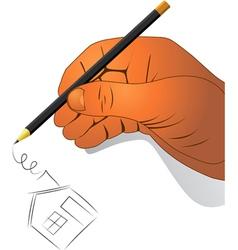 Hand activities vector