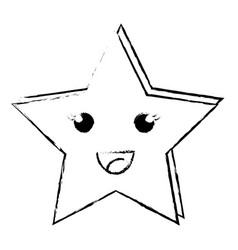 Happy sky star vector