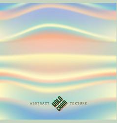 Hologram wavy texture vector